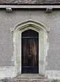 Church of St Thomas, Upshire, Essex, England - north door at east.jpg