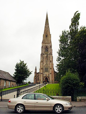 Church of the Holy Trinity Church of the Most Holy Trinity, Cookstown - geograph.org.uk - 108493.jpg