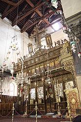 Church of the Nativity iconostasis 2010 7.jpg