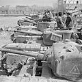 Churchill tanks of the North Irish Horse in Italy, 21 March 1945. NA23276.jpg