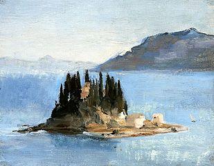 Corfu - Pontikonissi. From travel to Greece.