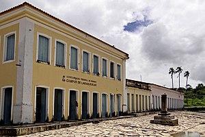 Laranjeiras, Sergipe - Historic street along Universidade Federal de Sergipe, Laranjeiras Campus
