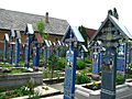 Cimitirul Vesel - Săpânța, Maramureș - detalii 02.JPG