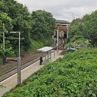 Cinderhill tram stop - Cinderhill tram stop