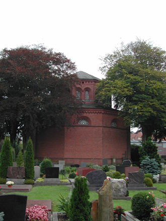 Cirksena - The Cirksena mausoleum in Aurich