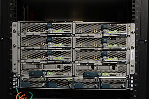 Blade server - Cisco UCS blade servers in a chassis