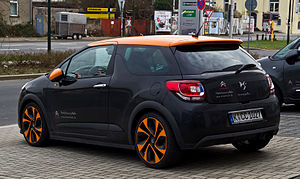 DS 3 - Citroën DS3 Racing