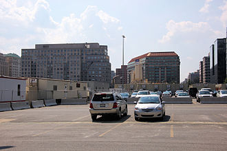 CityCenterDC - The northeast corner of the old convention center site was transferred to developer Kingdon Gould III in November 2007. As of August 2011, no decision had been made about what to build on this land.