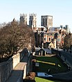 City Wall and the Minster - geograph.org.uk - 673435.jpg