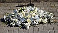 City of London Cemetery and Crematorium ~ floral tribute - White wreath.jpg