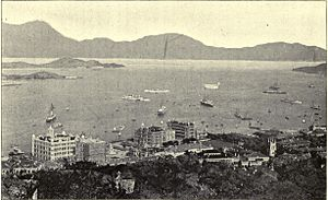 British Hong Kong - Victoria City, c. 1900