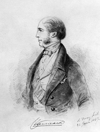 Ulick de Burgh, 1st Marquess of Clanricarde - The Marquess of Clanricarde, 1847.