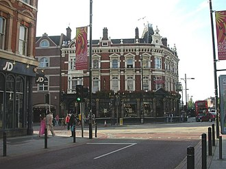 Clapham Junction - Image: Clapham Junction, The Falcon geograph.org.uk 1445529