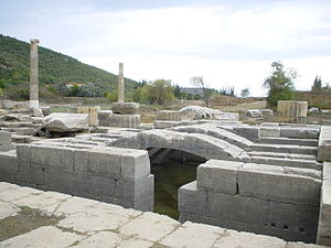 Claros - The maze-like adyton beneath the Temple of Apollo has been preserved well.