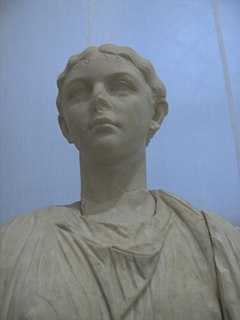 Livilla Daughter of Nero Claudius Drusus and Antonia Minor and sister of the Roman Emperor Claudius and general Germanicus (13 BC-AD 31)