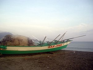 Cagayan - Fishing boat in Claveria