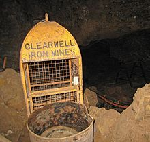 Clearwell Caves - Wikipedia Underground Mining Images