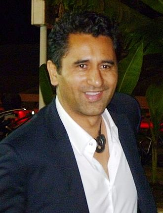 Cliff Curtis - Curtis at the 2011 MIPCOM, in Cannes.