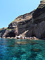 Cliff and Cave at Salina Aeolian Islands Italy.jpg