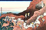 Hokusai, l'ascension du Fuji