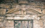 Clonbeith Castle doorway