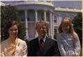Close up of Rosalynn Carter, Jimmy Carter and Amy Carter - NARA - 175599.tif
