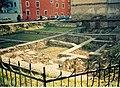 Cluj-Napoca castrul roman str.V.Deleu 02 (2003).jpg