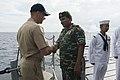 Cmdr. Todd Whalen Meets Maj Gen Ahmed Shiyam (141007-N-TW634-144).jpg