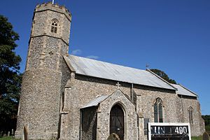 Sidestrand - Image: Cmglee Sidestrand parish church