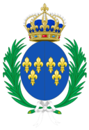 CoA of Marguerite of France.png