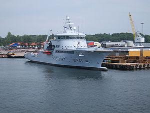 Coast Guard Vessel KV Bergen in Horten, starboard side, picture 3.JPG