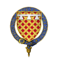Coat of Arms of Sir James Audeley, KG.png
