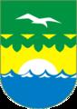 Coat of Arms of Zelenogorsk (St Petersburg) (2000).png