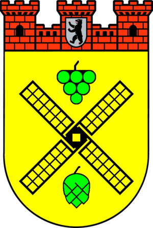 Coat of arms of Prenzlauer Berg, a former Boro...