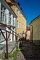 Cobblestone street in Old Town Tallinn (21397950215).jpg