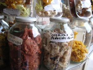 Cocadas - Colombian cocadas in jars