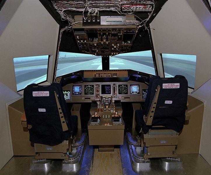 File cockpit motion wikimedia commons for Simulateur de chambre
