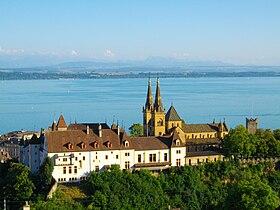 Collégiale de Neuchâtel