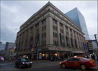 shopping mall, residential and office complex in Toronto, Ontario