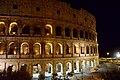 Colosseum exterior at night, Rome, Italy (Ank Kumar) 01.jpg