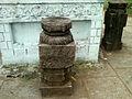 Columns around Dwajasthamba at Panchadarla temple.jpg
