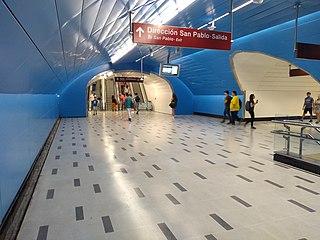 Universidad de Chile metro station metro station in Santiago, Chile