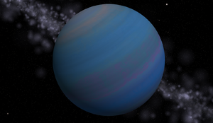 Gliese 876 e - An artist's impression of Gliese 876 e