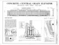 Concrete-Central Elevator, 175 Buffalo River, Buffalo, Erie County, NY HAER NY,15-BUF,28- (sheet 1 of 1).png