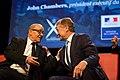 Conférence-débat de Jean-Yves Le Drian, ministre de la Défense, et John Chambers président du Conseil d'administration de Cisco Systems le Mardi 18 octobre 2016 à L'Ecole polytechnique (30387105836).jpg