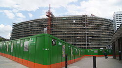 Construction of the Leeds Arena (20th July 2012) 001.JPG
