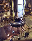Reaktorhalle eines Druckwasserreaktors