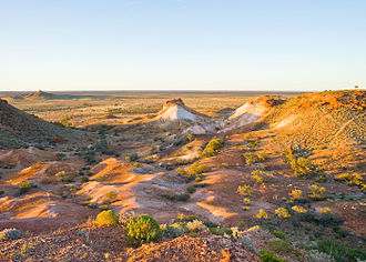 Coober Pedy - Coober Pedy – Sunset on the Breakways