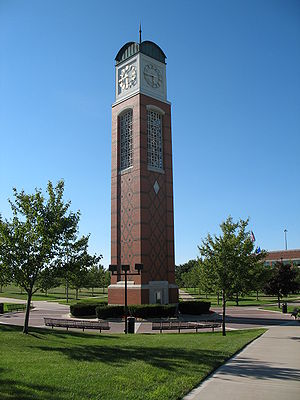 Grand Valley State University - Cook Carillon Tower at Grand Valley State University-Allendale campus