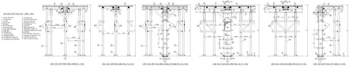 thi công bê tông toàn khối Khuôn đúc bê tông cột, dầm, sàn nhà